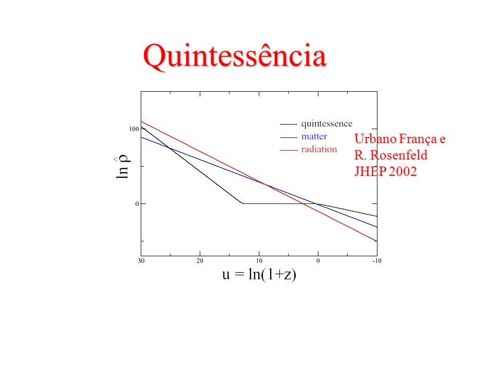 Quintessência Urbano França e R. Rosenfeld JHEP 2002
