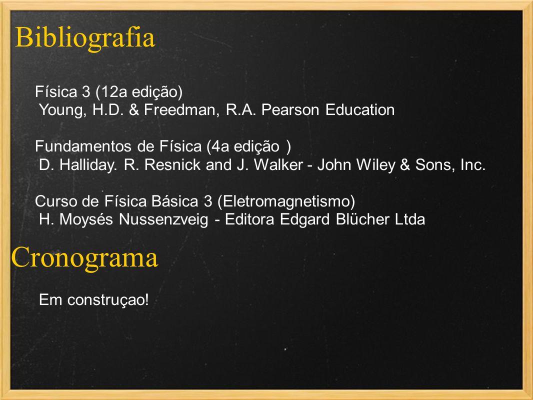 Bibliografia Cronograma Física 3 (12a edição)