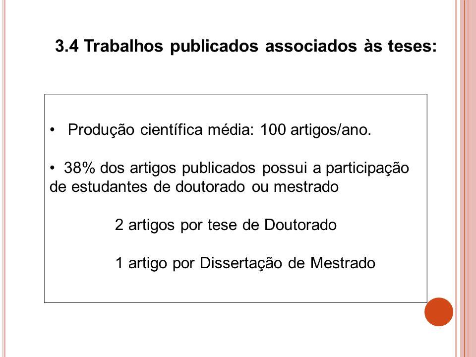 3.4 Trabalhos publicados associados às teses: