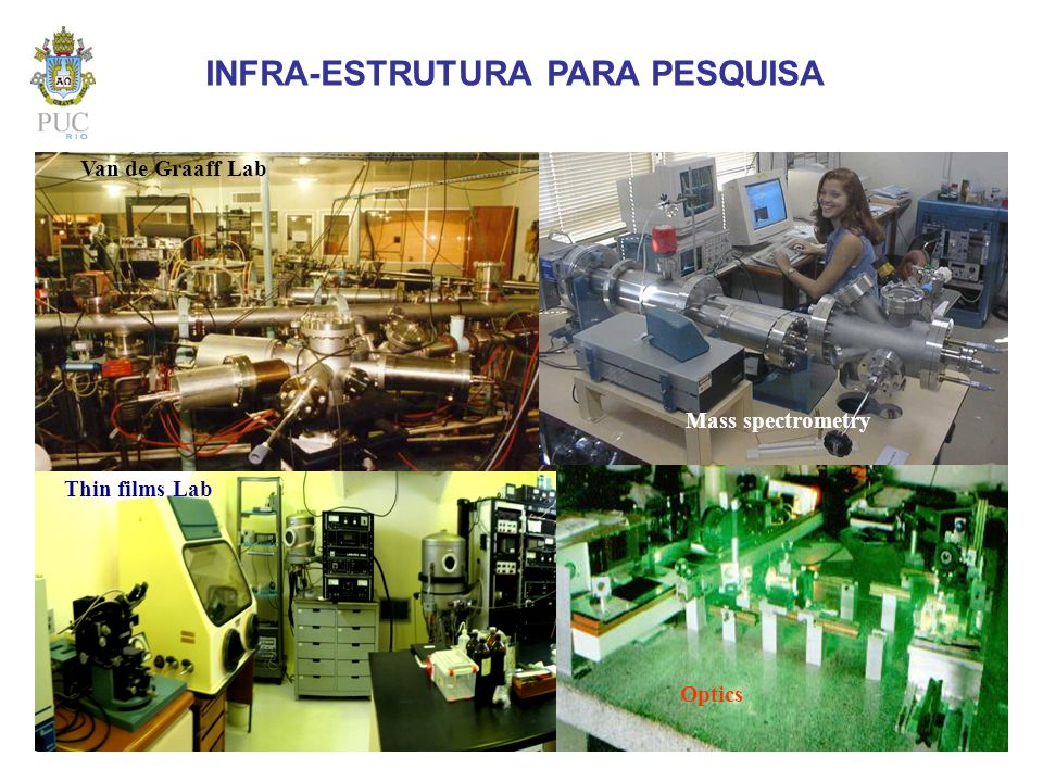 INFRA-ESTRUTURA PARA PESQUISA