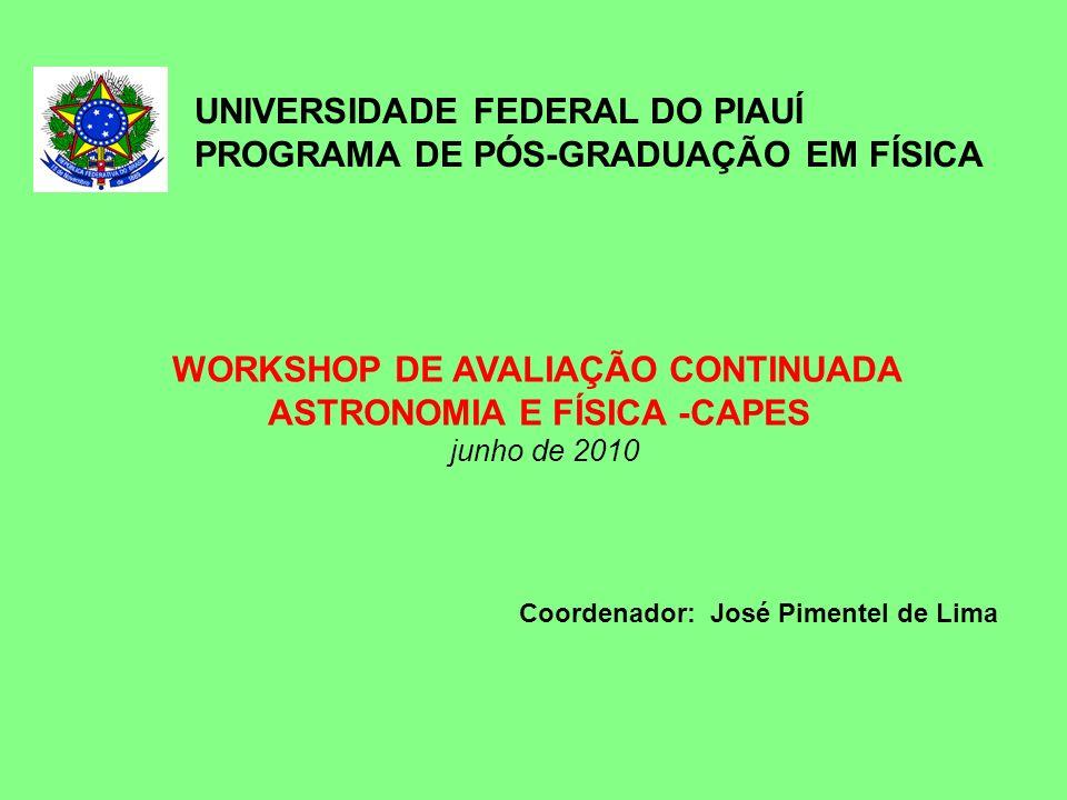 WORKSHOP DE AVALIAÇÃO CONTINUADA