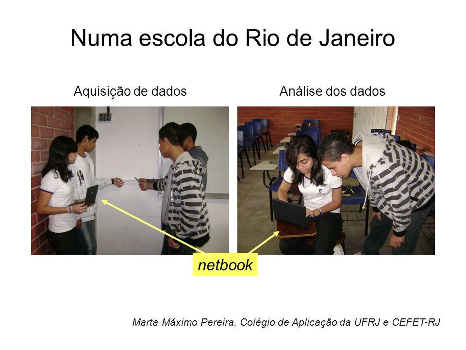 Numa escola do Rio de Janeiro