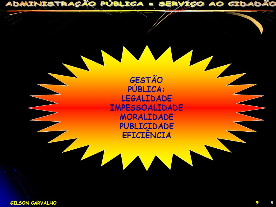 GESTÃO PÚBLICA: LEGALIDADE IMPESSOALIDADE MORALIDADE PUBLICIDADE