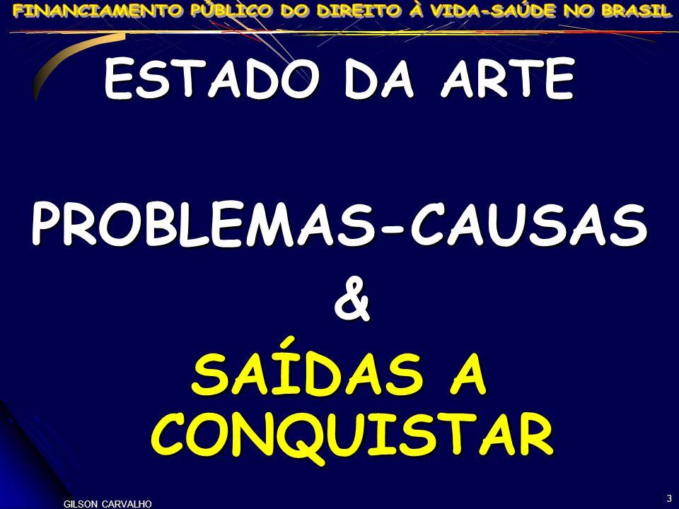 PROBLEMAS-CAUSAS & SAÍDAS A CONQUISTAR