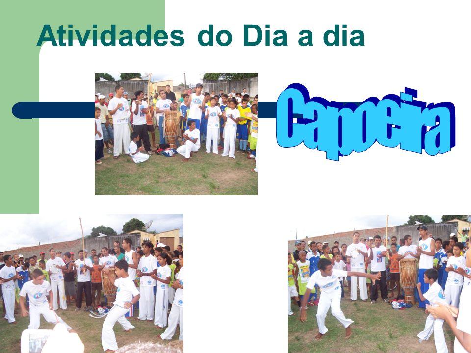 Atividades do Dia a dia Capoeira