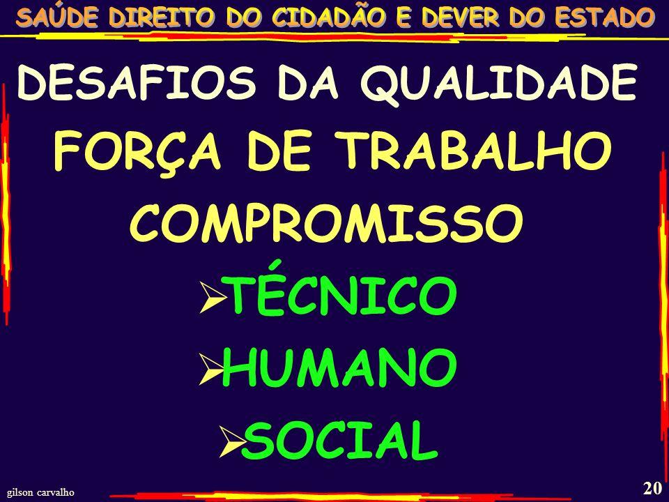 COMPROMISSO TÉCNICO HUMANO SOCIAL