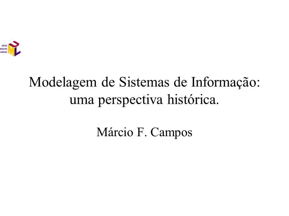 Modelagem de Sistemas de Informação: uma perspectiva histórica.