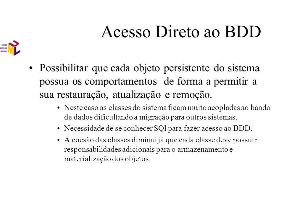 Acesso Direto ao BDD