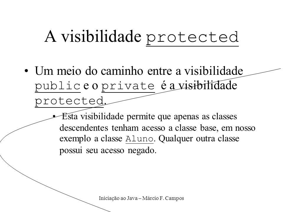 A visibilidade protected