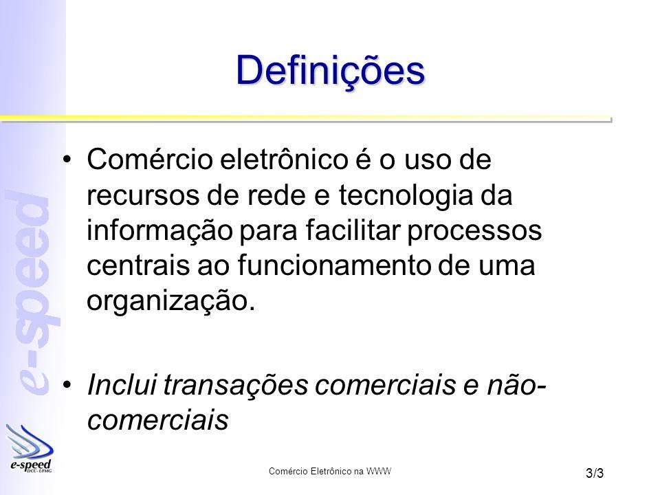 Comércio Eletrônico na WWW