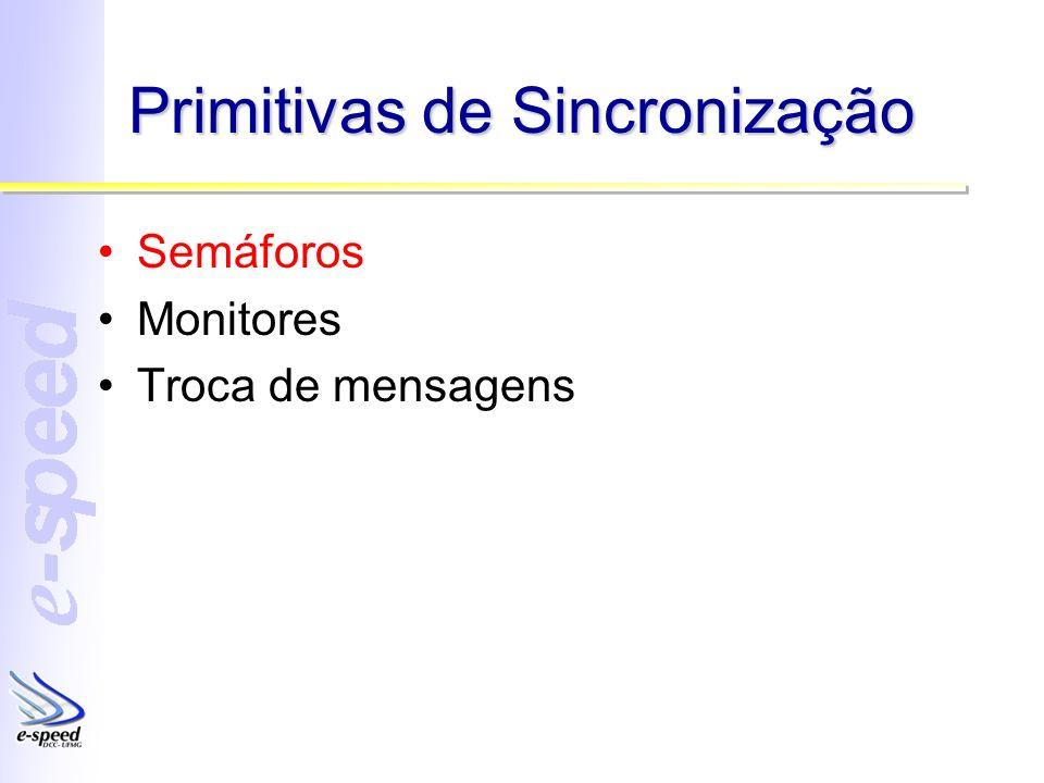 Primitivas de Sincronização
