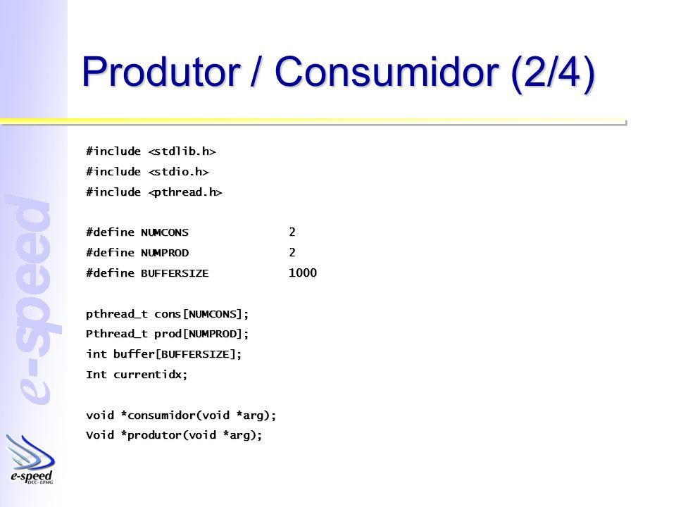 Produtor / Consumidor (2/4)