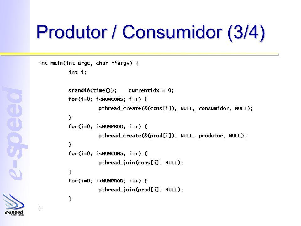 Produtor / Consumidor (3/4)