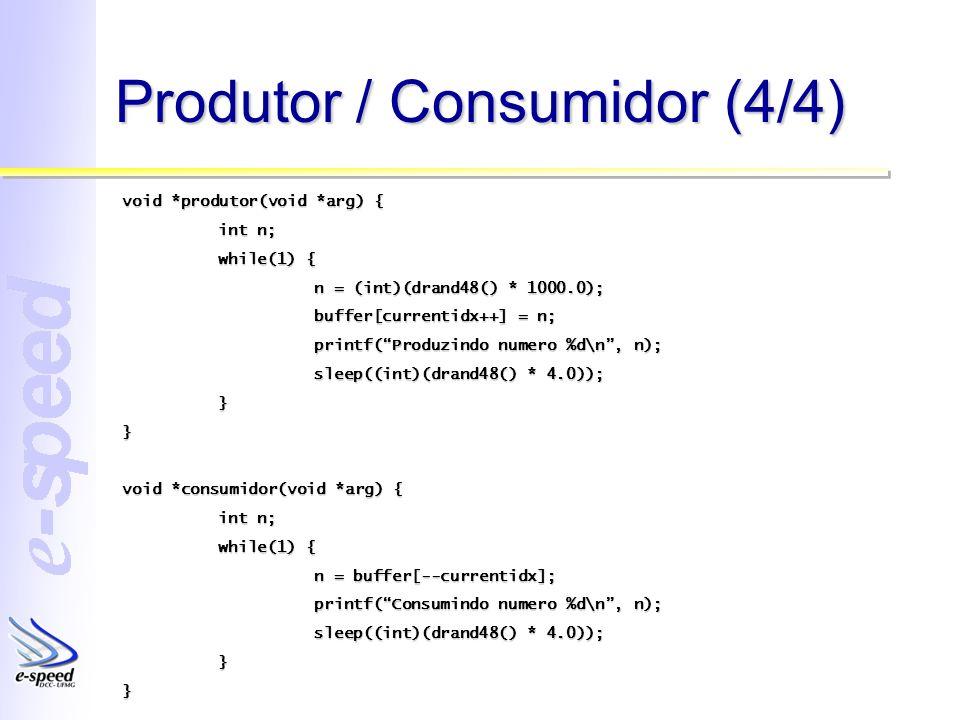 Produtor / Consumidor (4/4)