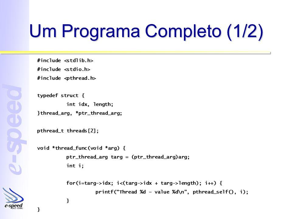 Um Programa Completo (1/2)