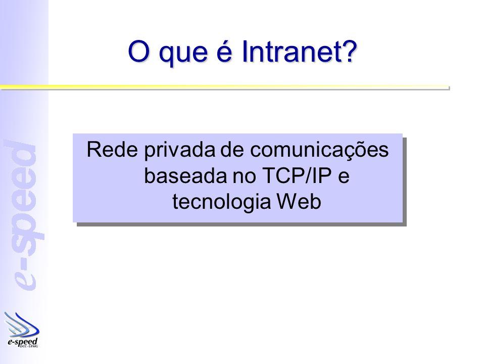 Rede privada de comunicações baseada no TCP/IP e tecnologia Web