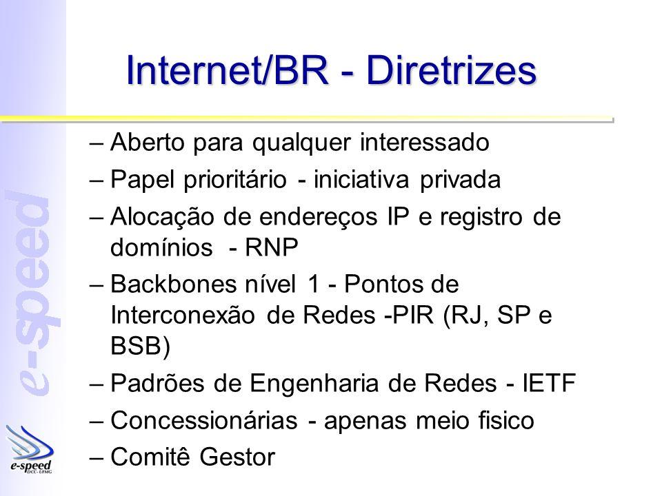 Internet/BR - Diretrizes