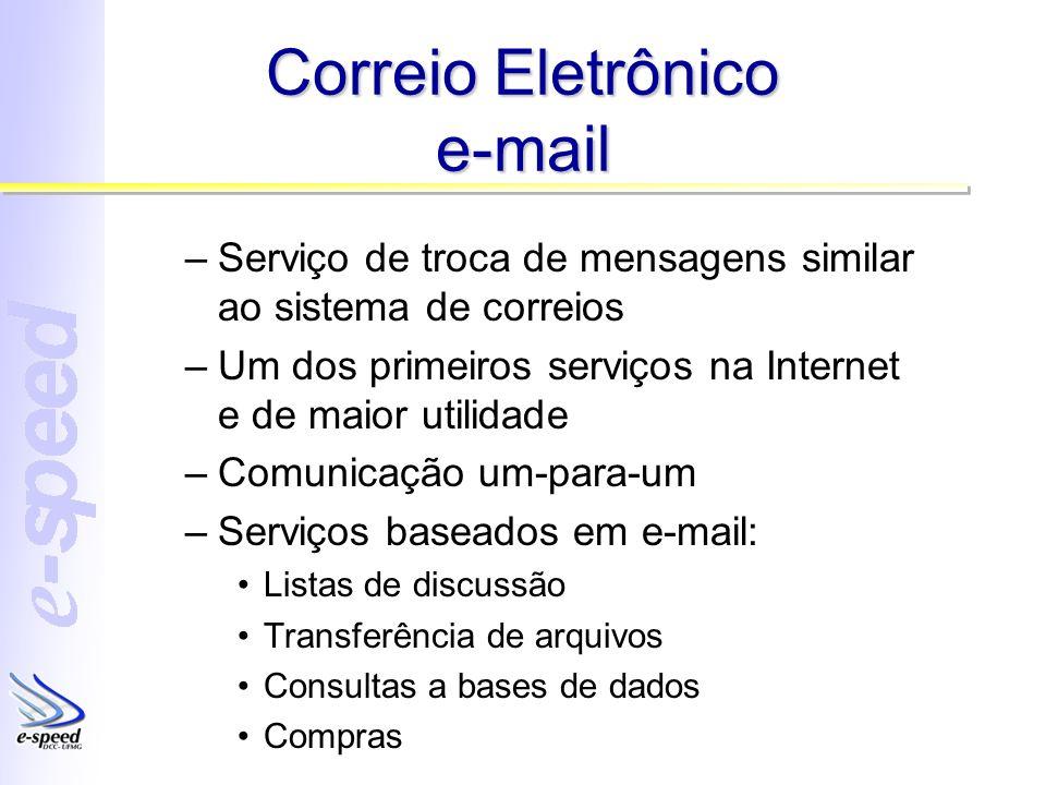 Correio Eletrônico e-mail