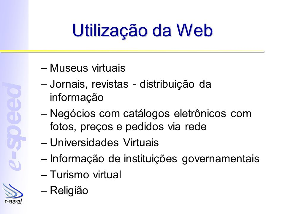 Utilização da Web Museus virtuais