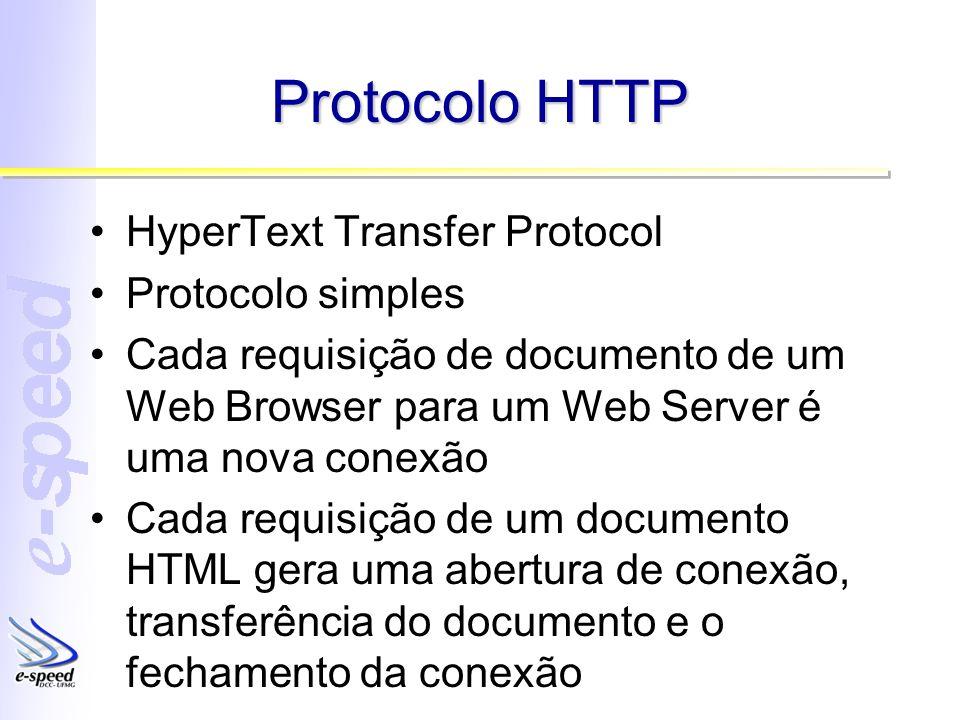 Protocolo HTTP HyperText Transfer Protocol Protocolo simples