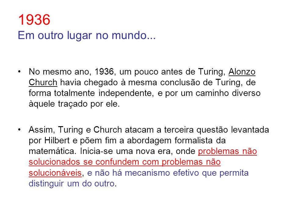 1936 Em outro lugar no mundo...