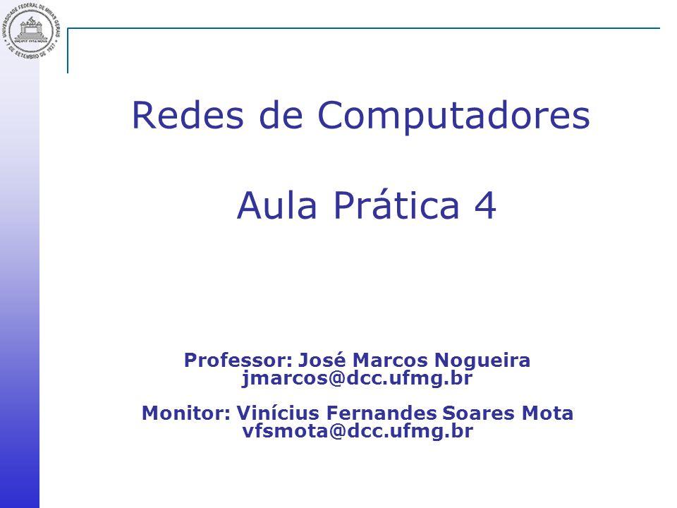 Redes de Computadores Aula Prática 4
