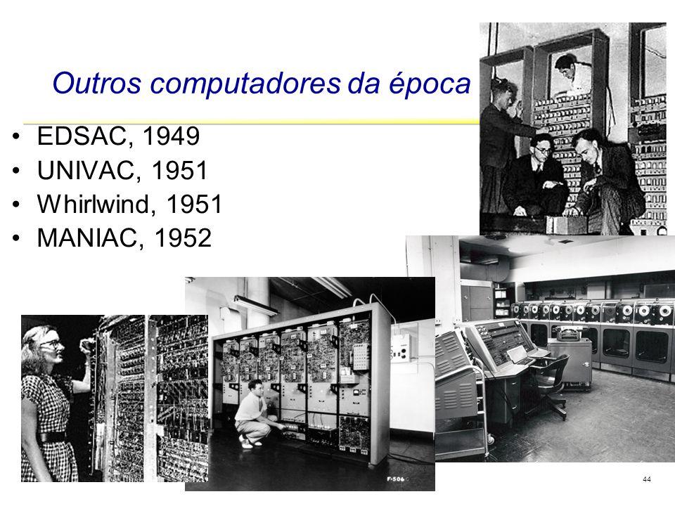 Outros computadores da época