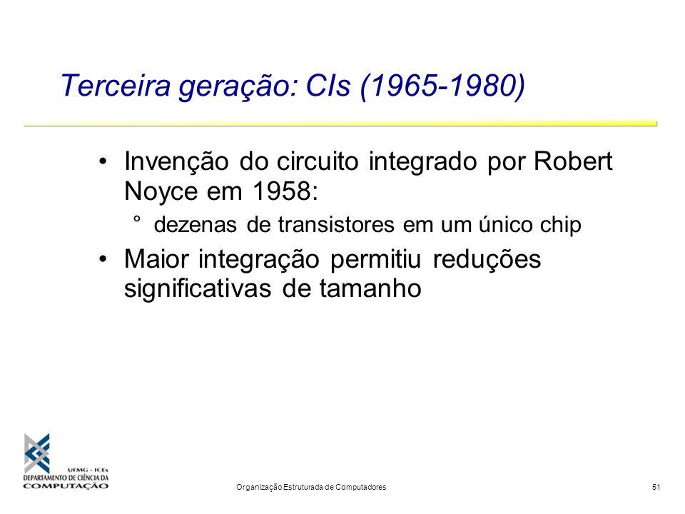Terceira geração: CIs (1965-1980)