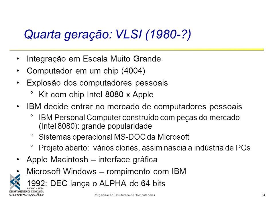 Quarta geração: VLSI (1980- )