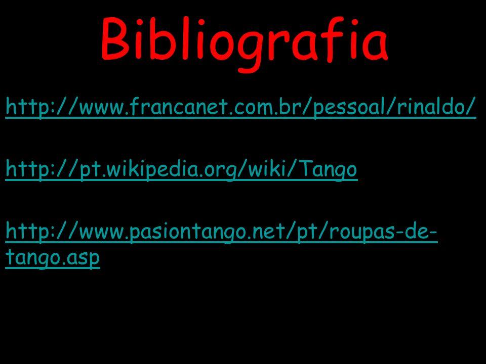 Bibliografia http://www.francanet.com.br/pessoal/rinaldo/