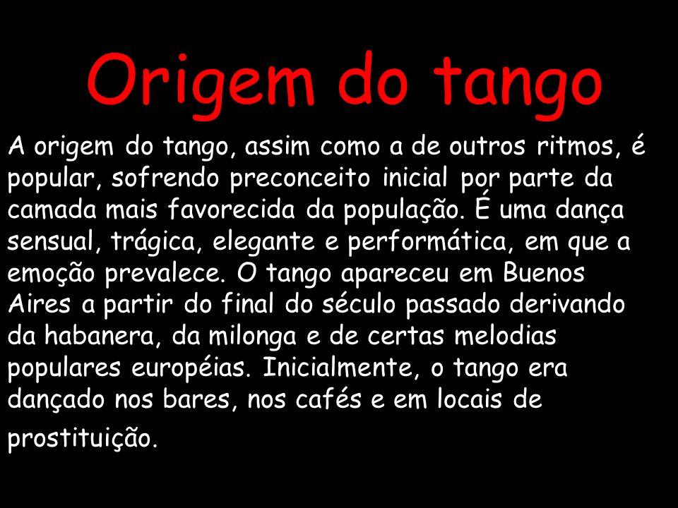Origem do tango