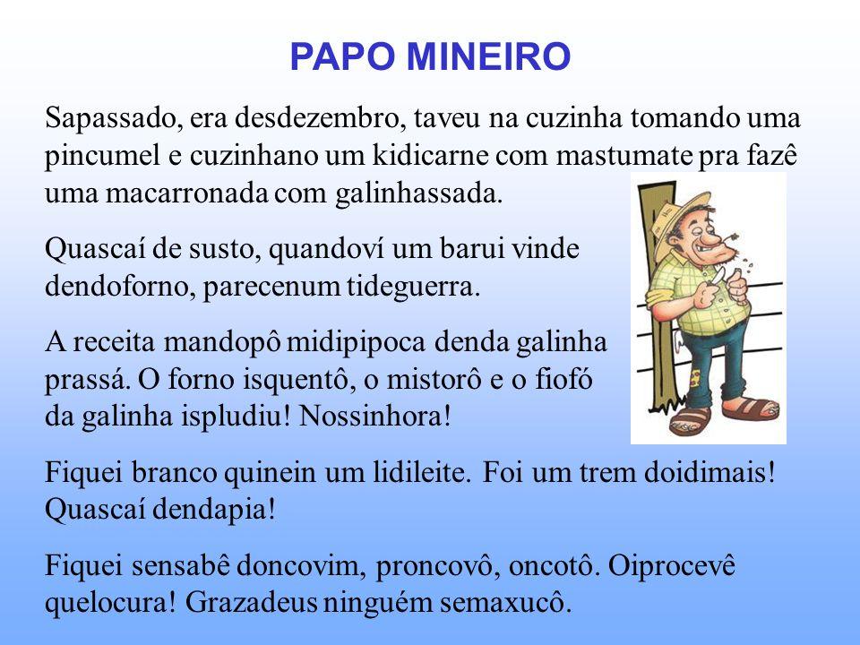 PAPO MINEIRO