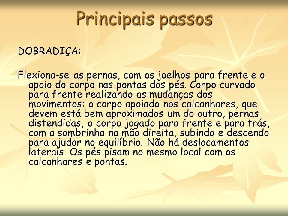 Principais passos DOBRADIÇA: