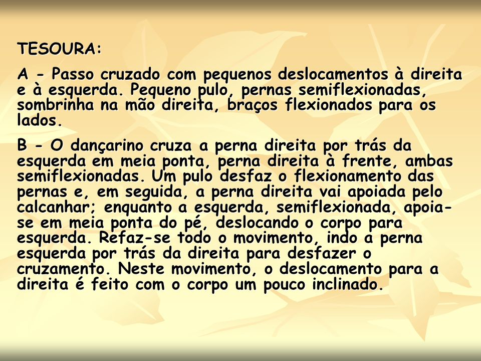 TESOURA: