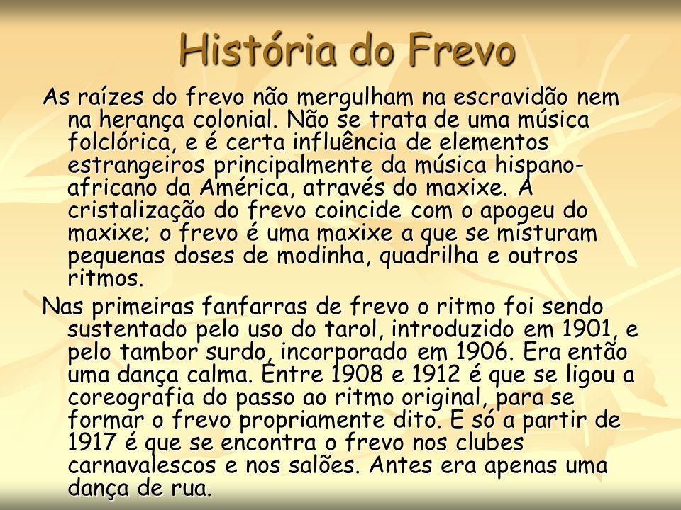 História do Frevo