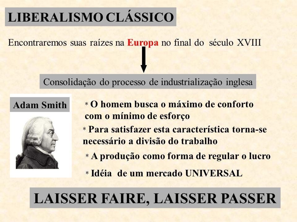 LAISSER FAIRE, LAISSER PASSER