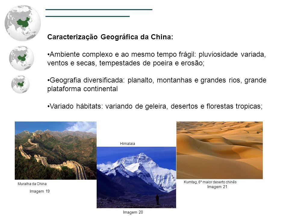 Caracterização Geográfica da China: