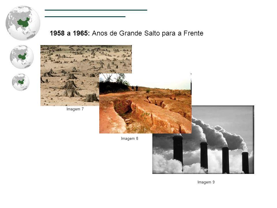 1958 a 1965: Anos de Grande Salto para a Frente