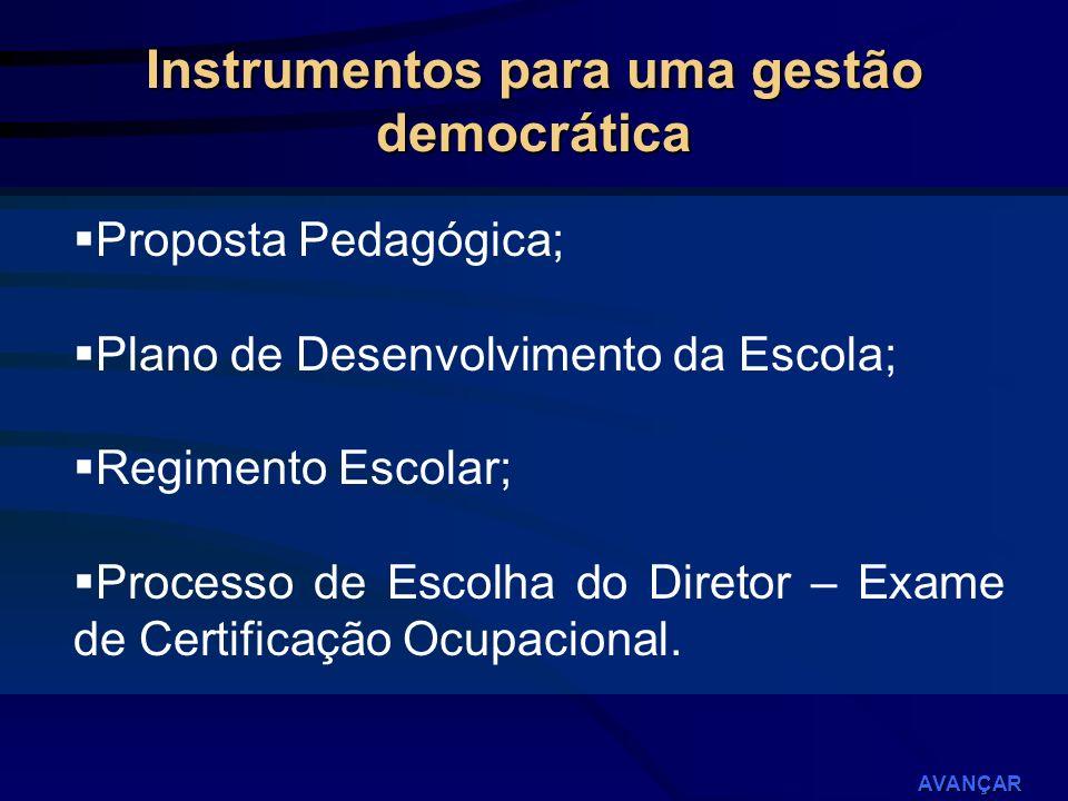 Instrumentos para uma gestão democrática