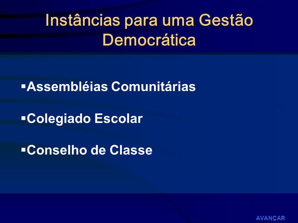 Instâncias para uma Gestão Democrática