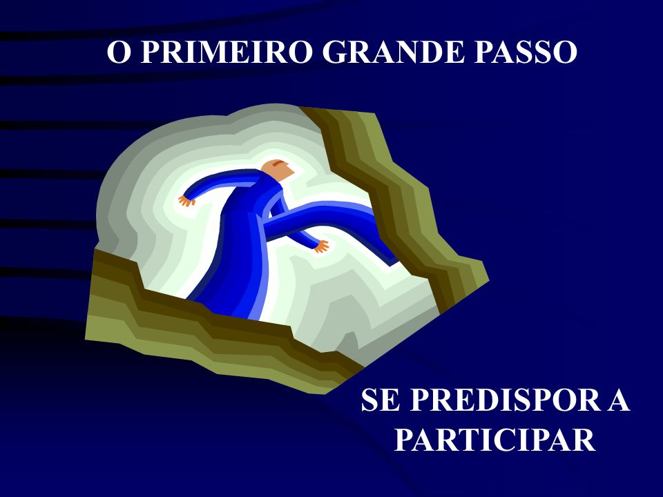 SE PREDISPOR A PARTICIPAR