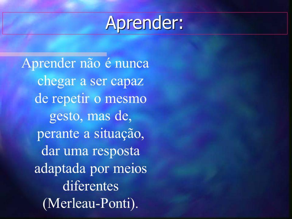 Aprender: