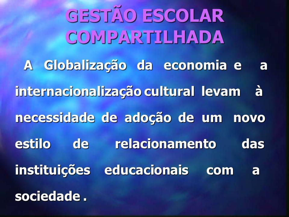 GESTÃO ESCOLAR COMPARTILHADA