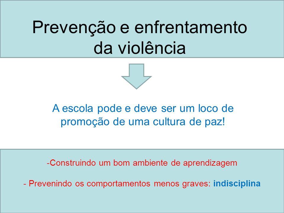 Prevenção e enfrentamento da violência
