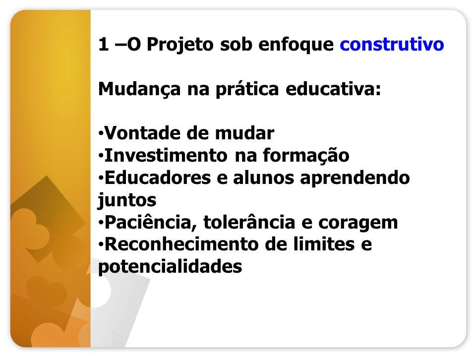 1 –O Projeto sob enfoque construtivo