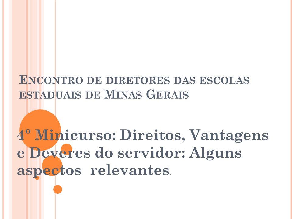 Encontro de diretores das escolas estaduais de Minas Gerais