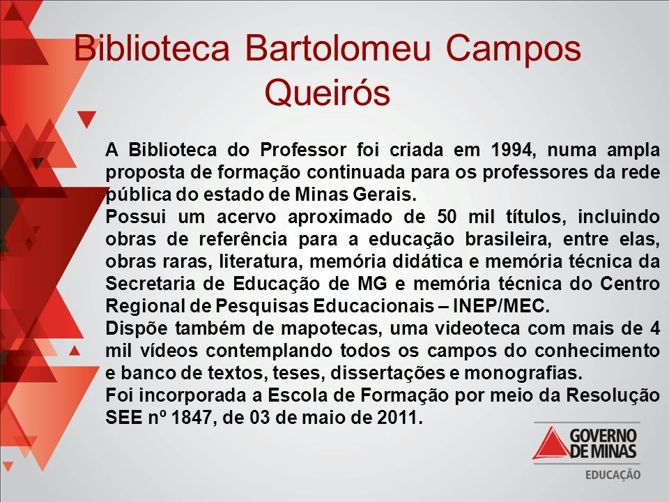 Biblioteca Bartolomeu Campos Queirós