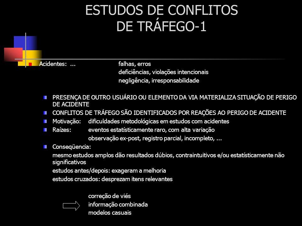 ESTUDOS DE CONFLITOS DE TRÁFEGO-1