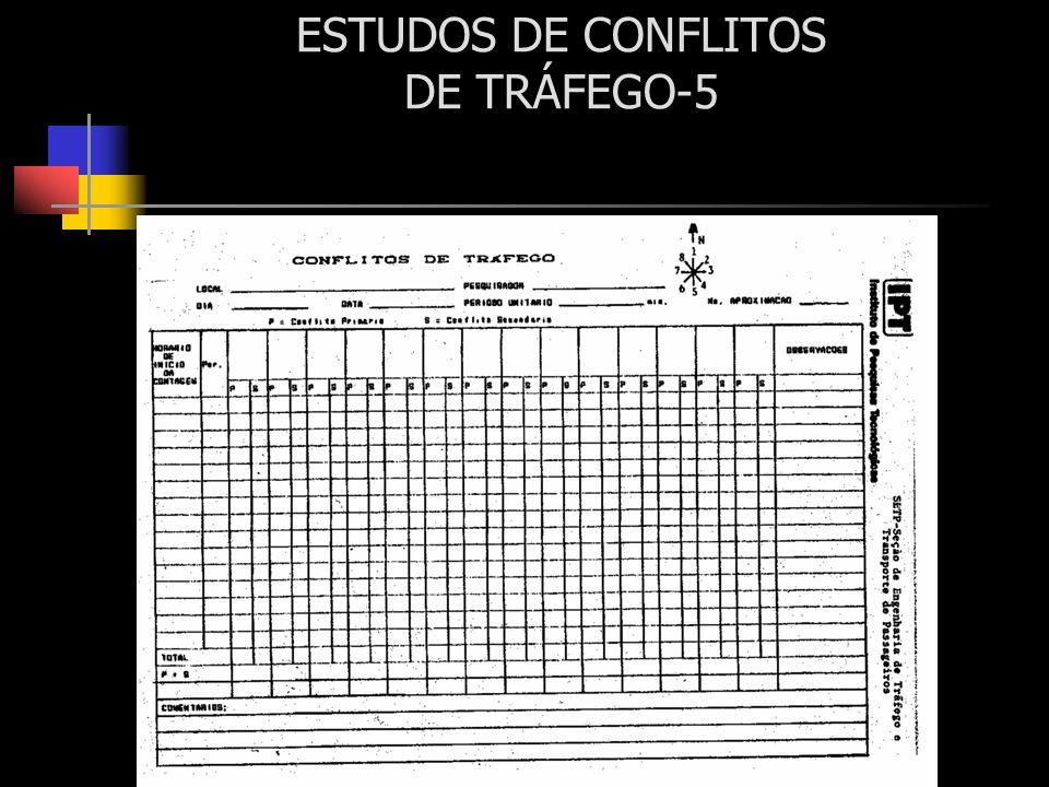 ESTUDOS DE CONFLITOS DE TRÁFEGO-5