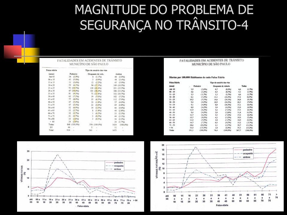 MAGNITUDE DO PROBLEMA DE SEGURANÇA NO TRÂNSITO-4